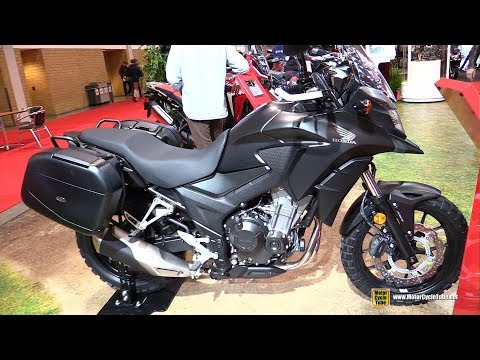2018 Honda CB500X - Walkaround - 2018 Toronto Motorcycle Show