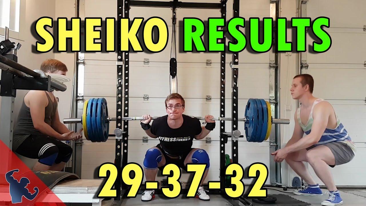Sheiko Bench Program Part - 17: MY RESULTS OF SHEIKO POWERLIFTING PROGRAM 29-37-32