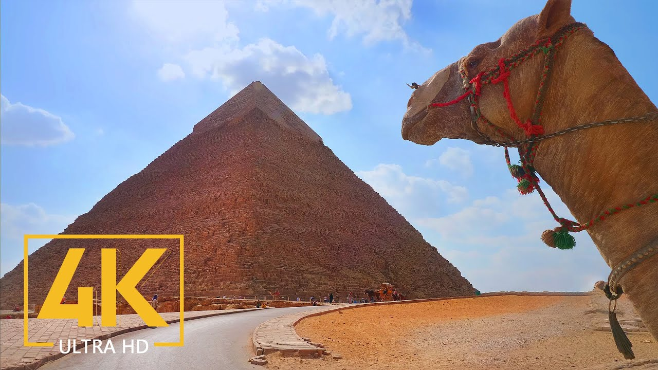 Pyramids & Ancient Architecture of Egypt - 4K Travel Film - World's Best Destinations