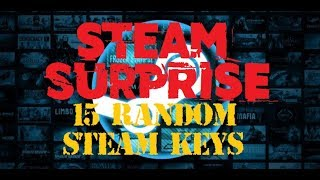 STEAM SURPRISE - 15 Random Steam Keys | Top oder Schrott?