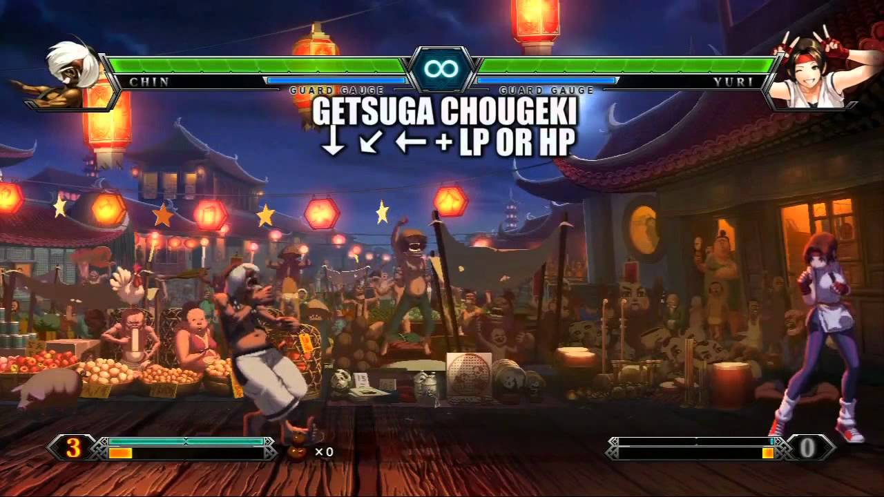 King Of Fighters Xiii All Character Skill List 720p Hd Youtube