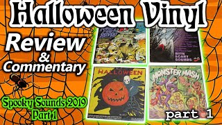 Spooky Sounds 2019, Part 1 | Halloween Vinyl Lp Records, Review & Commentary