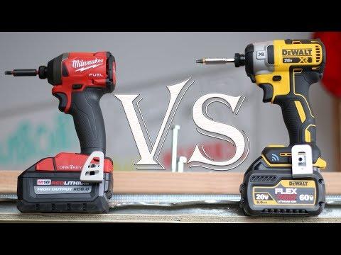 Best Impact Driver Tool Test - Milwaukee (2857-20) VS DeWalt (DCF888)