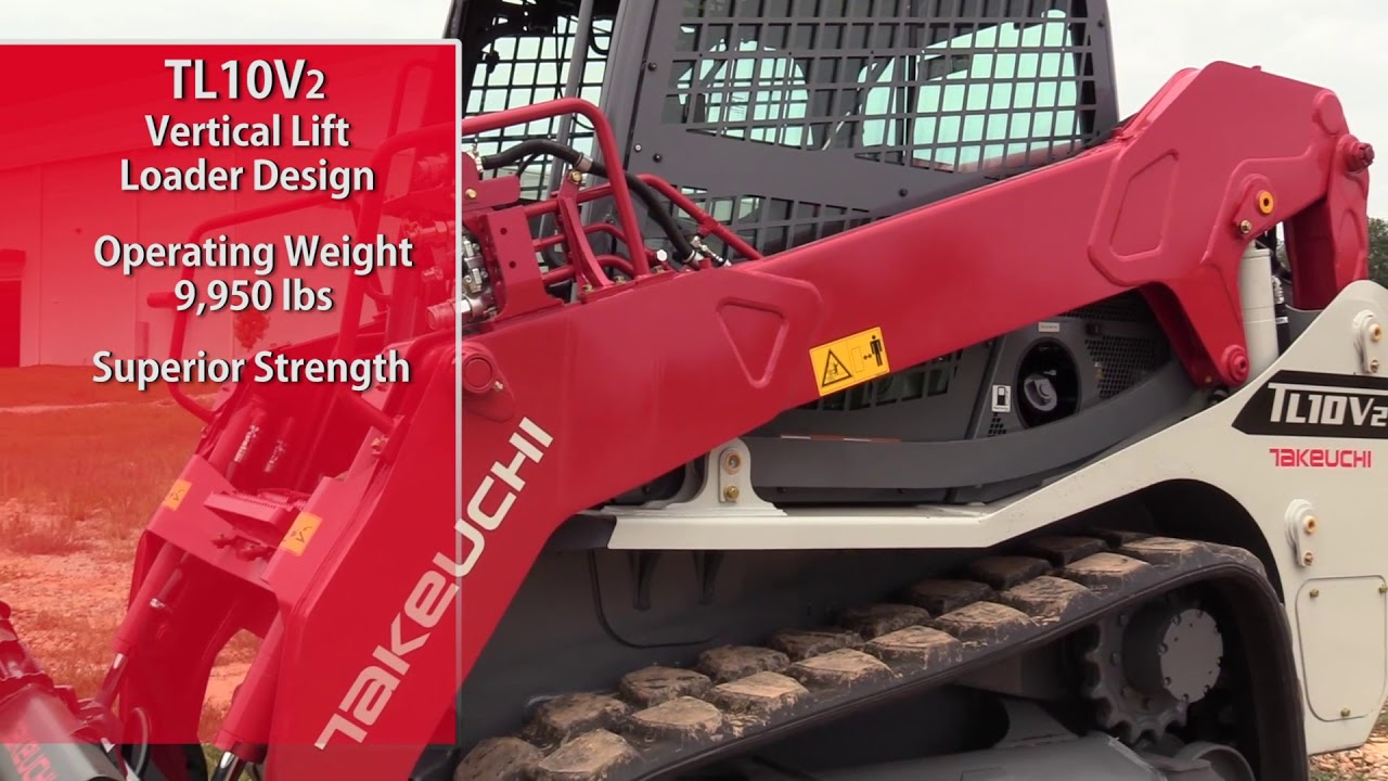 Takeuchi TL10V2 Loader Design Feature - YouTube