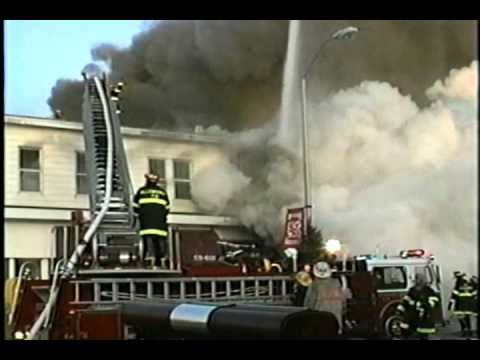 Main Street Allenhurst, NJ 1992 Christmas Day Fire - Part 1 of 5
