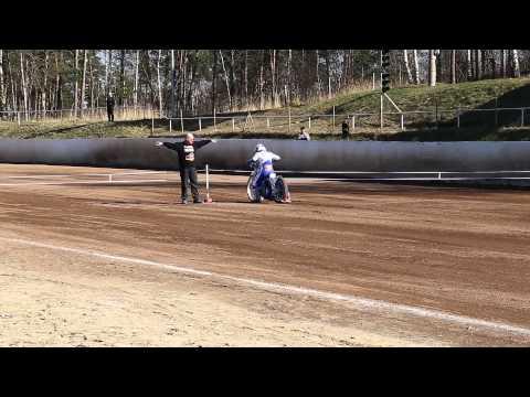 Nicki Pedersen Speedway Training MSC Wölfe Wittstock 18.03.2015