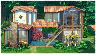 The Sims 4: Speed Build // JUNGLE VILLA