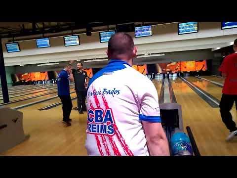 300 BADOS Vivien - 01/10/17 Chpt de France Doublette Elite Bowling - phase Grand Est