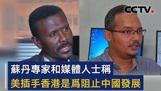 苏丹专家和媒体人士称 美插手香港是为阻止中国发展 | CCTV