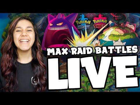 MAX RAID BATTLES WITH VIEWERS! POKEMON SWORD & SHIELD LIVE