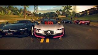 Asphalt 8 Citroen Survolt vs. GT by Citroen 32 Racers Infected