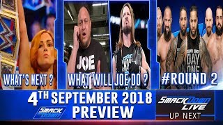 :  WWE Smackdown Live 4th September 2018 Preview என்ன நடக்கும் ??? | Wrestling Entertainment Tamil