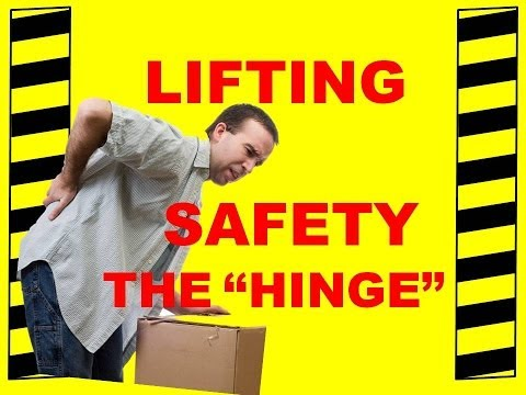 Back Safety:Injury Prevention Hinge in Your Back Safety Training Video