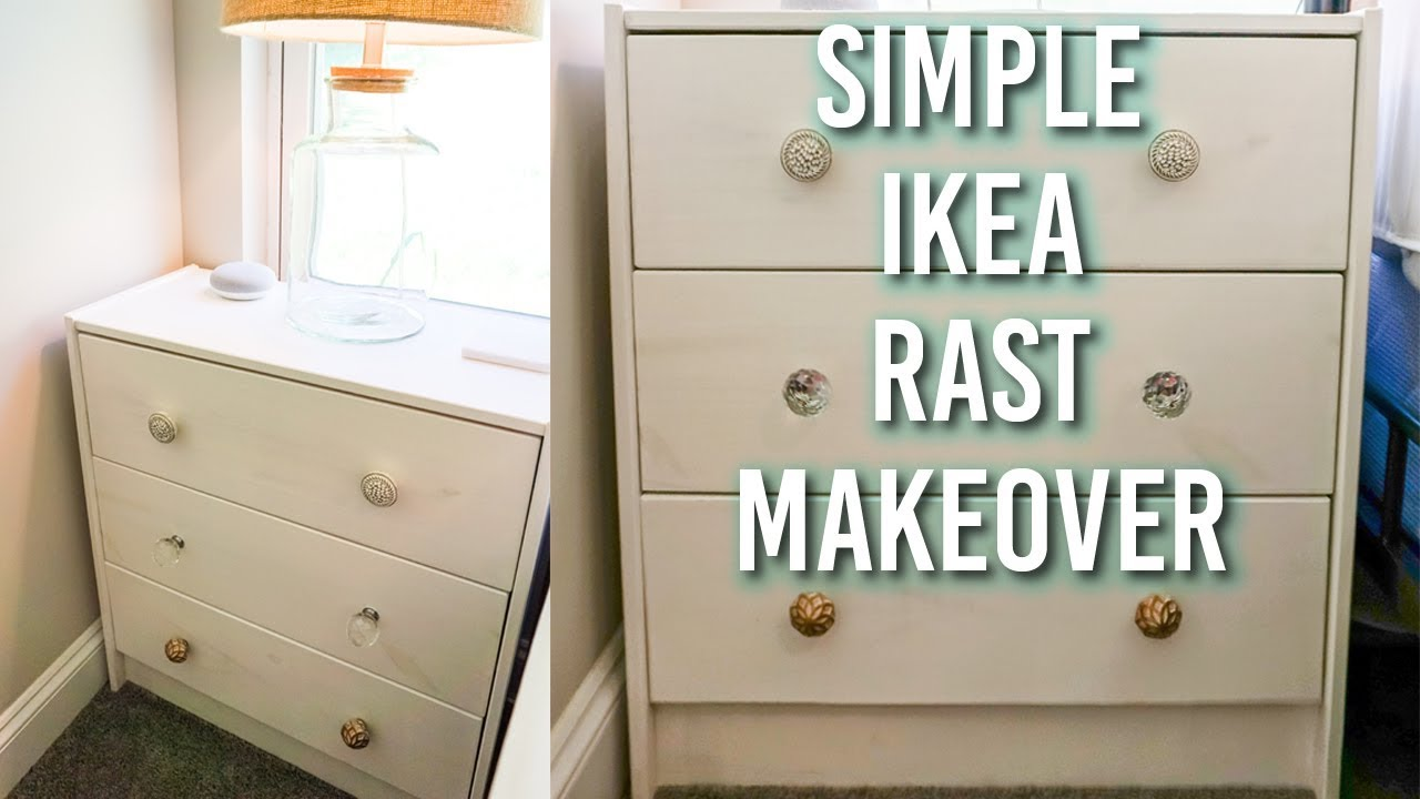 An Ikea Rast Makeover