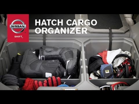 Cargo Organizer | Genuine Nissan Accessories - YouTube