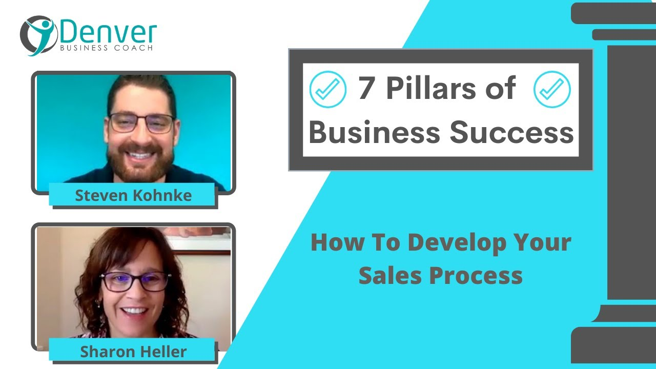 7 Pillars of a Successful Business:  How To Develop Your Sales Process