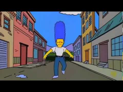 The simpsons marge passes the police test s6ep23 youtube - Police simpsons ...