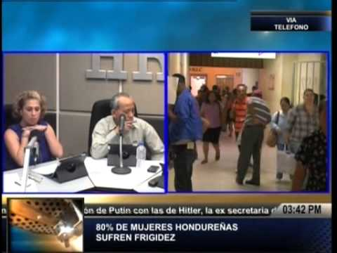 TVC La Tarde-Cerca del 80% de mujeres hondureñas sufren de impotencia o frigidez sexual