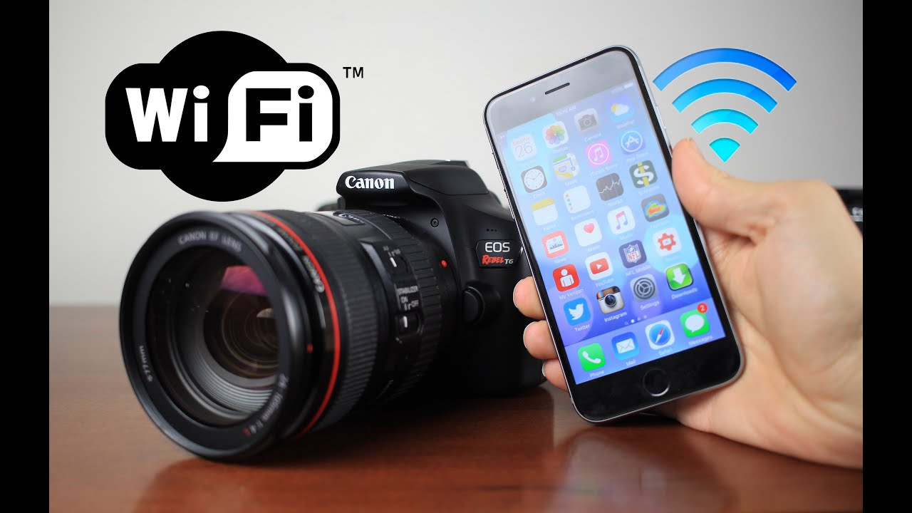 how to work a canon rebel camera
