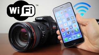 Canon T6 Wifi Setup