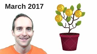 March 2017 Business Income and Expense Report for JerryBanfield.com