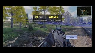 Call of duty mobile BR win on OnePlus 7 pro with 13 kills (HD)