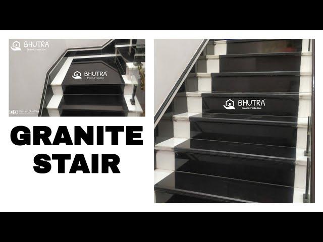 Bhutra Marble Granites – Makrana Kishangarh Chak Dungri Pure | Black Granite Staircase Designs | Marble | Polished Granite | Floor Stair Circular | Kota Stone Staircase | Jet Black