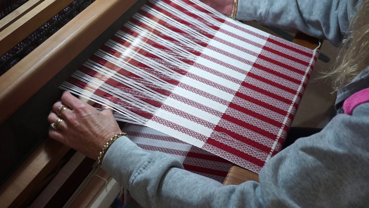 Weaving Tea Towels Ashford Jack Floor Loom