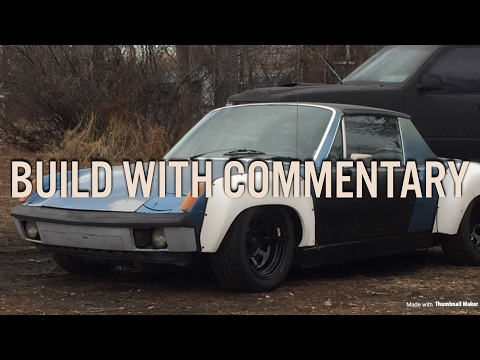 Subaru swapped Porsche 914 Build WITH COMMENTARY
