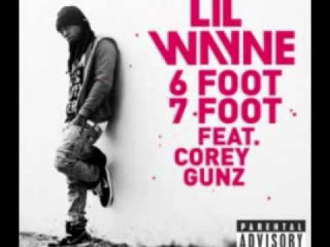 Lil Wayne - 6 Foot 7 Foot (feat. Corey Gunz) [clean]