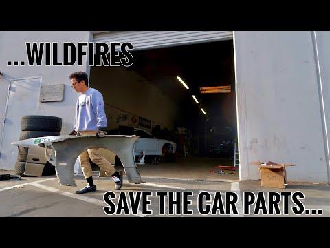 WILDFIRES ARE CLOSE - Garage Prep for Evacuation