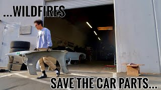 WILDFIRES ARE CLOSE - Garage Prep for Evacuation