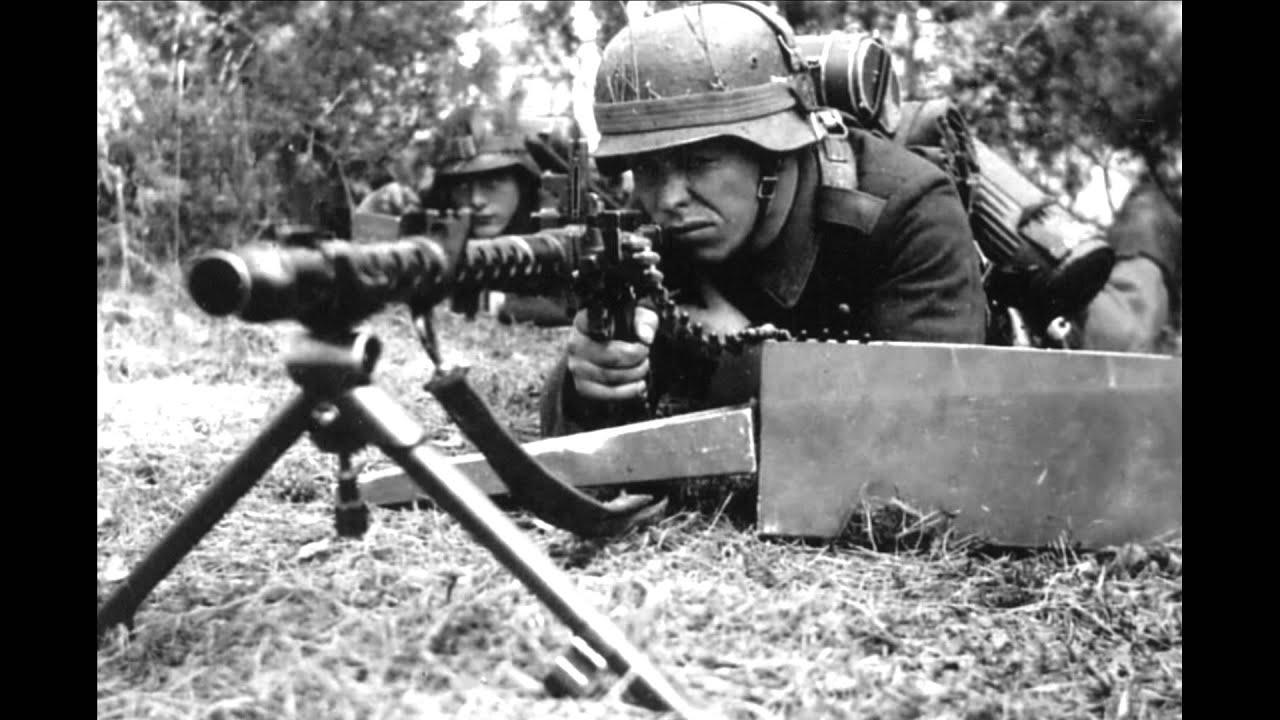 sound of machine guns