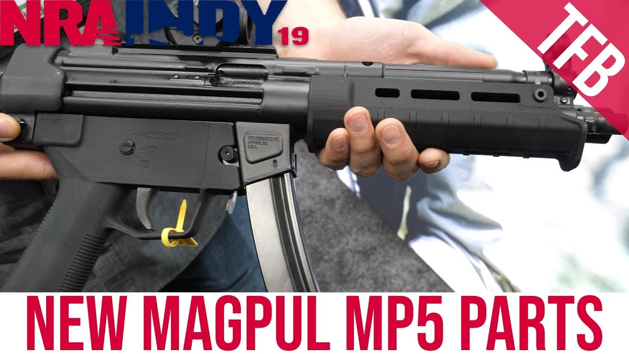 [NRA 2019] Magpul's New MP5 Furniture (and Magazines??)