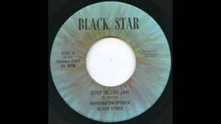 Barrington Spence Black Stars - Step In Jah Jah - Dub In Jah.