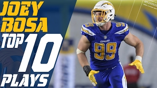 Joey Bosa's Top 10 Plays of the 2016 Season | NFL Highlights