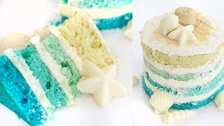 How to Make a Summer Beach Cake   RECIPE