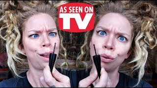 ROLLER WHEEL EYELINER! WEIRD!- DOES THIS THING REALLY WORK? thumbnail