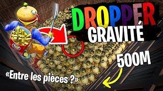 Le Dropper de l'IMPOSSIBLE avec faible gravité sur Fortnite Créatif !