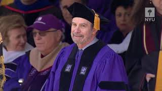 NYU 2019 Commencement Conferral of the Honorary Degrees