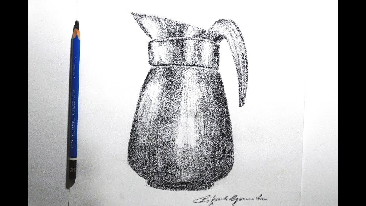 Still life pencil sketch by artist vikash agrawal