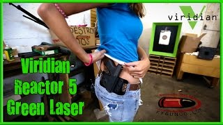 Viridian Reactor 5 Green Laser for Glock G43 with Tiffany