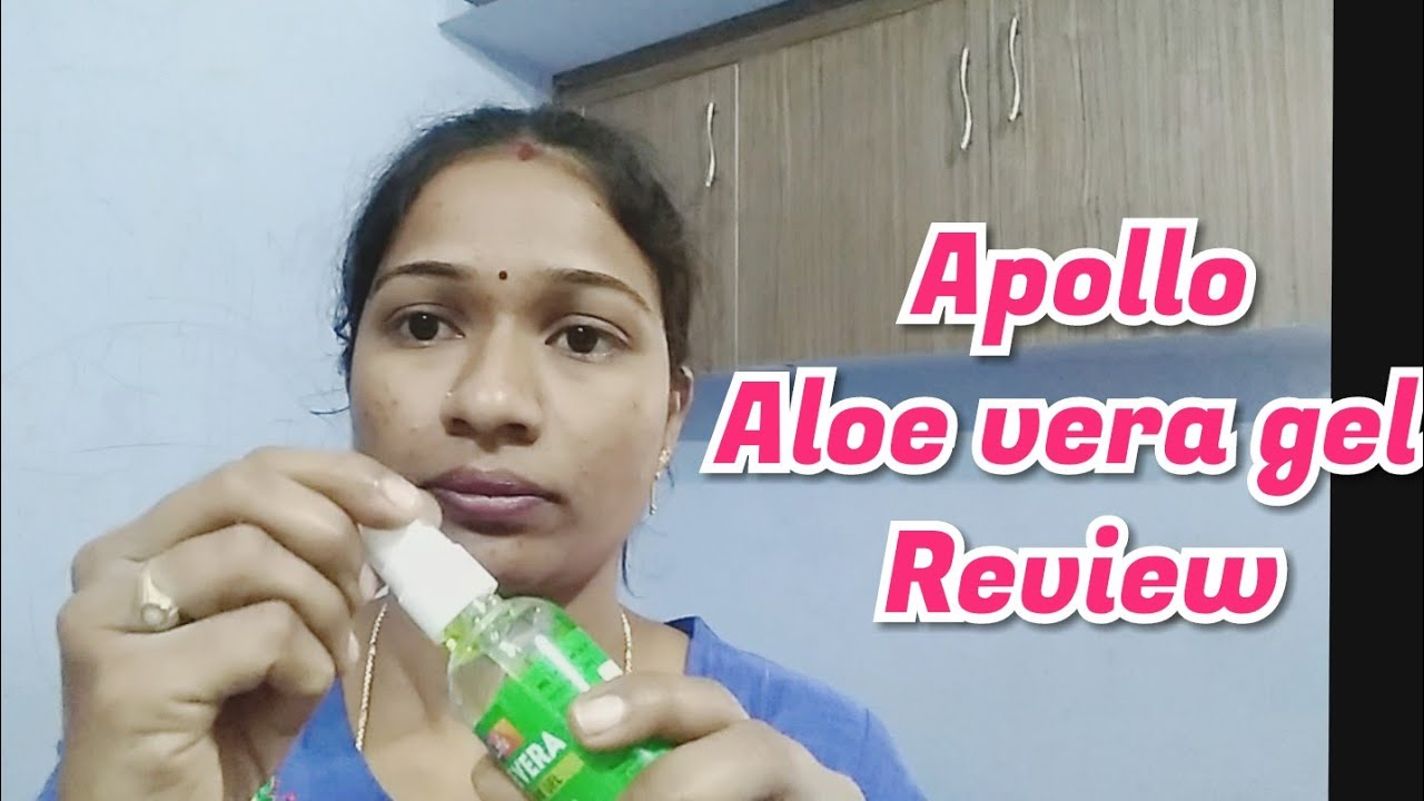 Review Super Discount Sale 80rs Apollo Aloe Vera Skin Care Gel Now 33rs Uses Benefits How To Aply Youtube