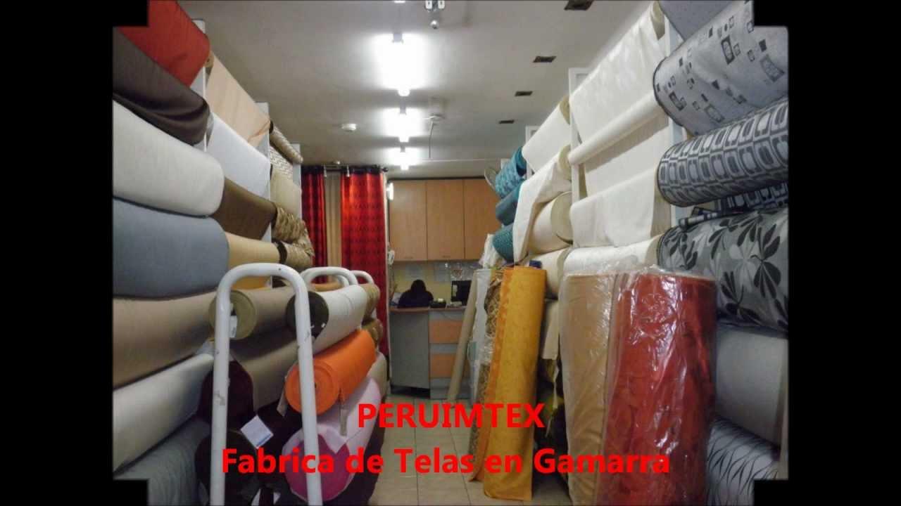 Fabrica de telas en gamarra peruimtex 2 youtube for Fabrica de placares en montevideo