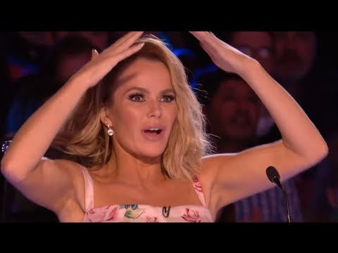 LEAKED: Seemingly Boring Man SCARES THE HELL Out Of The Judges   Britain's Got Talent 2018