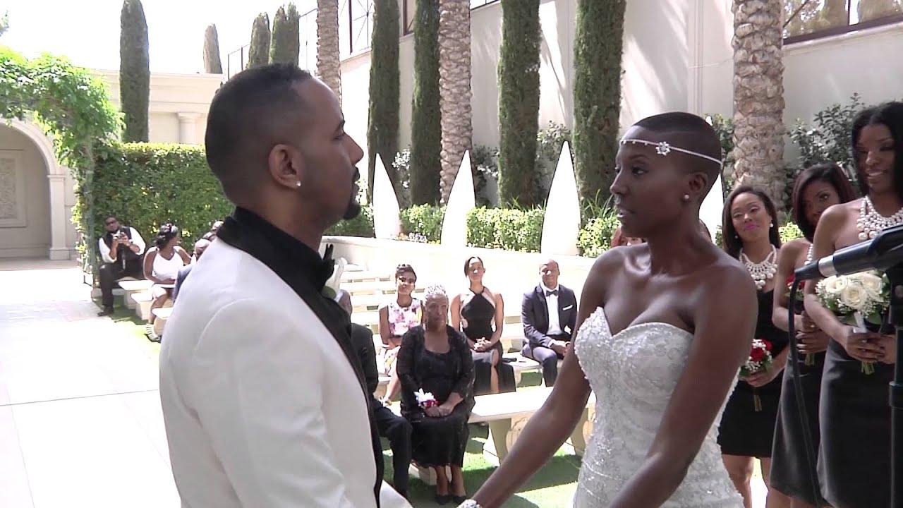 Our Wedding  Caesars Palace Juno Garden  YouTube