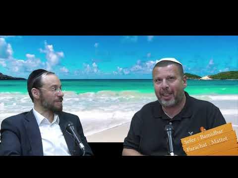 Sefer Bamidbar : PARACHAT MATTOT (42) avec le duo Rav Brand et Fabrice