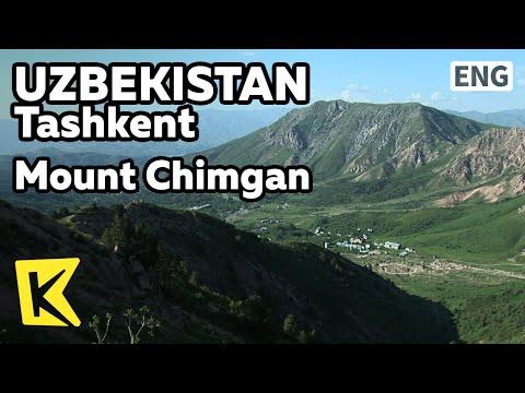 【K】Uzbekistan Travel-Tashkent[우즈베키스탄 여행-타슈켄트]사계절 휴양지, 침간산/Mount Chimgan/Resort/Wish/Ski