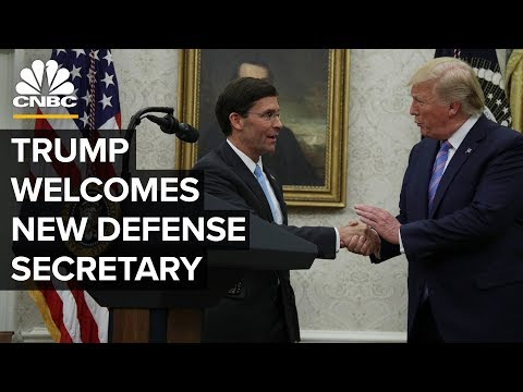 President Trump welcomes