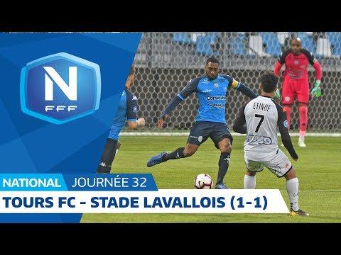 J32 : Tours FC - Stade Lavallois (1-1), le résumé I National FFF 2018 2019